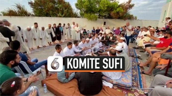 VIDEO: Pertemuan Komite Sufi di Makam Sidi Omar Boukhtiwa