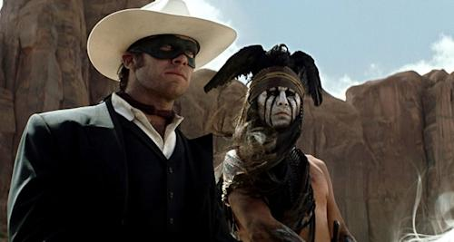 'The Lone Ranger': New Trailer Delivers Wild Action in the Wild West