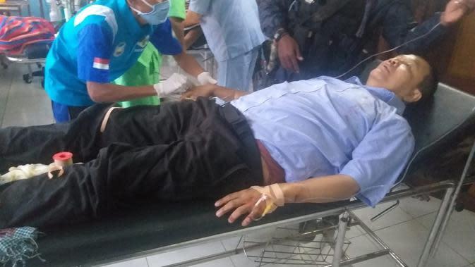Salah Satu Korban Dari TGPF Intan Jaya Tertembak KKB di Papua. (foto: Dokumen Komando Gabungan Wilayah Pertahanan (Kogabwilhan) III).