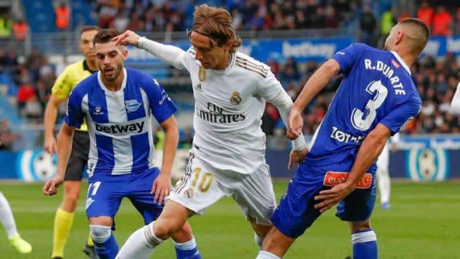 Lumbung Gol Real Madrid Bernama Alaves