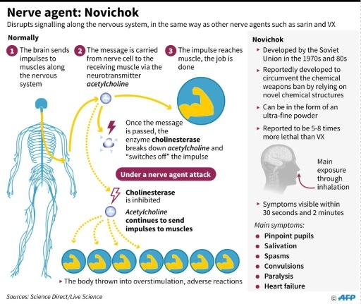 Factfile on the Soviet-era nerve agent Novichok