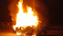 男子深夜奔山區救援傷貓 回程自撞火燒車喪命