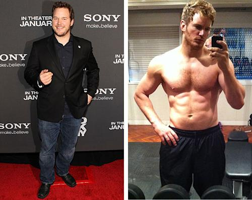 Chris Pratt gets buff for 'Guardians of Galaxy': See his before and after