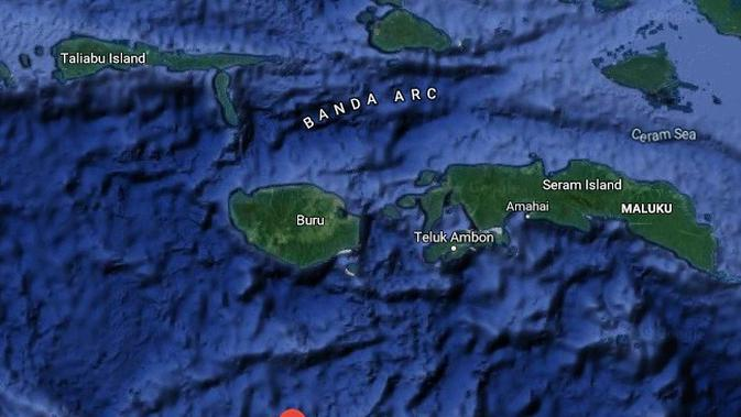 Google Maps Laut Banda