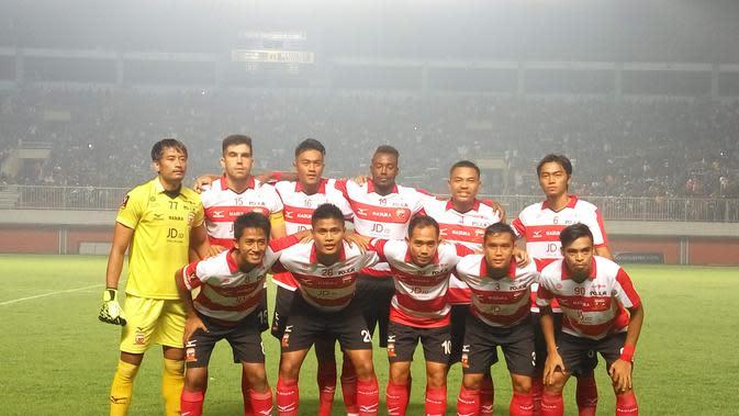Madura United (Liputan6.com / Switzy Sabandar)