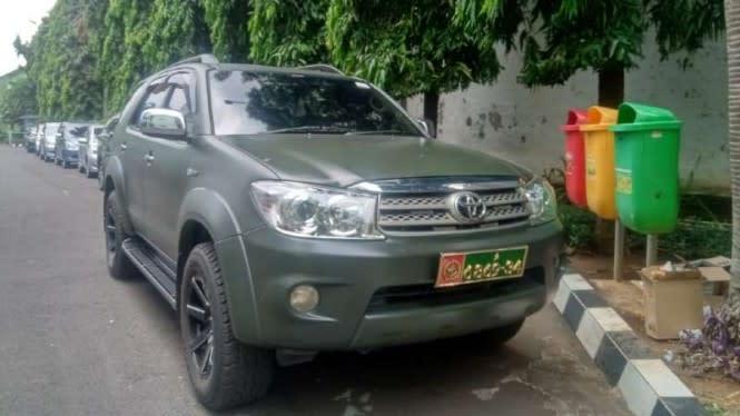 Kolonel Bagus Beri Izin Ahon Gunakan Mobil TNI Terancam Pidana