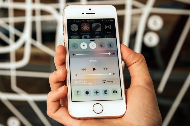 iPhone SE - smallest smartphones