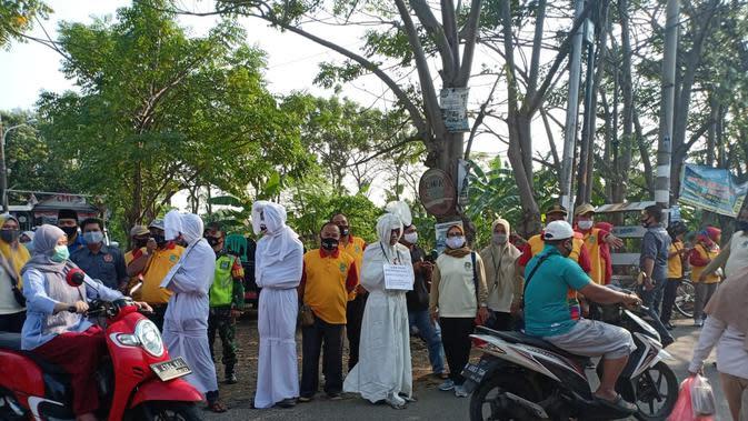 Pemkot Bekasi Gelar Razia Masker Secara Masif di Pasar dan Jalan Protokol