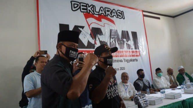 8 Tokoh KAMI Ditangkap, Gatot Nurmantyo Sebut Polisi Represif