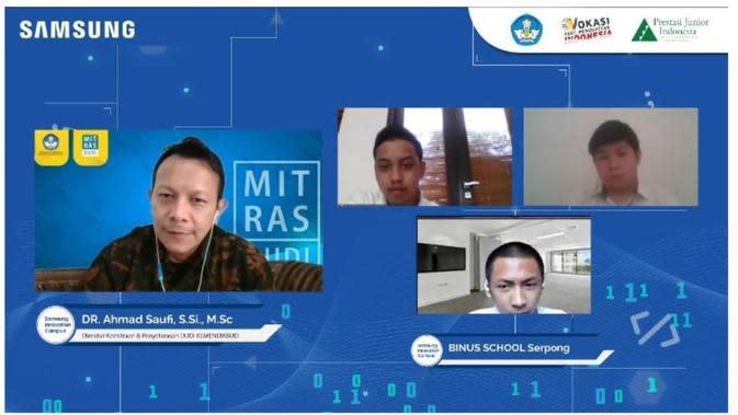Pandemi Bukan Penghalang untuk Berinovasi di Bidang Teknologi dan Pendidikan. foto: dok. Samsung Indonesia