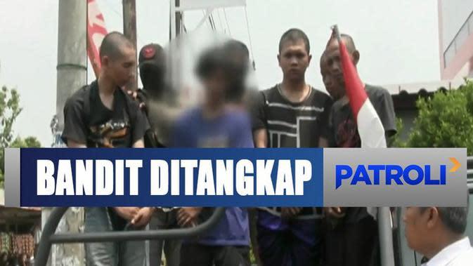 Kerap Merampok dan Ancam Warga, Polisi Ringkus Komplotan Bandit Geng RDH
