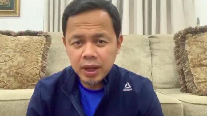 Wali Kota Bogor Bima Arya mengumumkan dirinya positif Covid-19 atau virus corona. (istimewa)