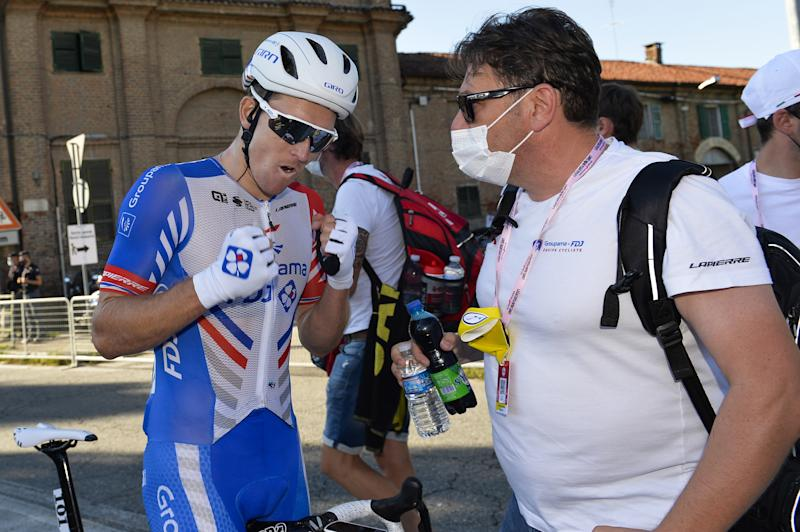Arnaud Demare happy with final sprint in Stupinigi for Milano-Torino win