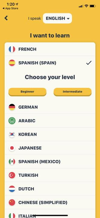 Memrise best apps to learn Spanish