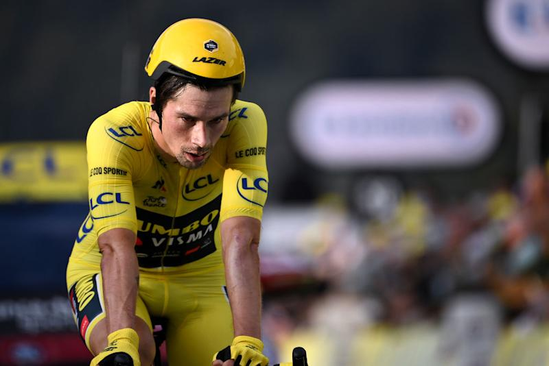 Primoz Roglic (Jumbo-Visma) saw his yellow jersey slip away on the penultimate-stage time trial at the 2020 Tour de France