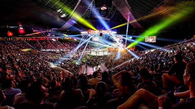 One Championship saat berlangsung di Singapura (Foto: One Championship)
