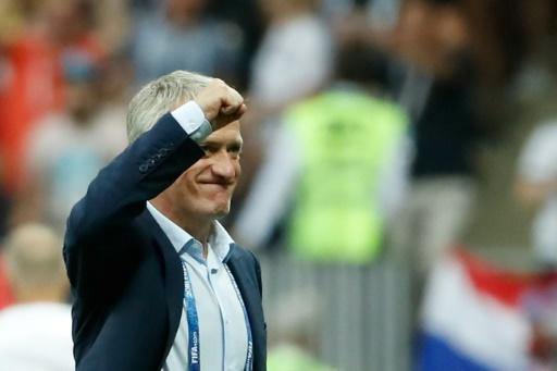 Winner: Didier Deschamps is now a World Cup winner as a player and a coach