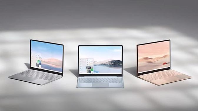 Microsoft Surface Laptop Go (screenshot via YouTube Microsoft Surface)