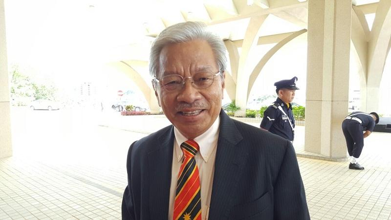 Tan Sri James Jemut Masing said the Pakatan Harapan federal government should take its Kimanis by-election loss positively to improve governance. — Picture by Sulok Tawie