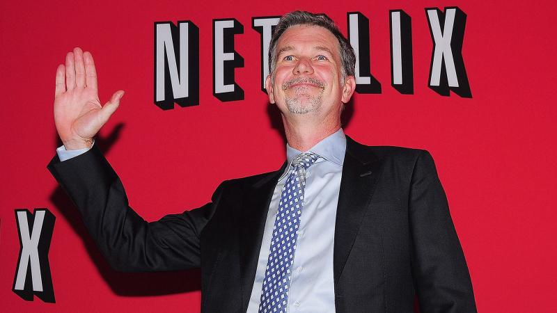 Netflix Boosts CEO Reed Hastings Pay Package 50% in 2014 to $6 Mil