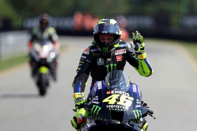 Rossi quashes retirement talk