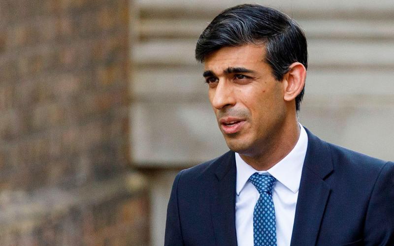 Britain's Chancellor, Rishi Sunak - Tolga Akmen/AFP