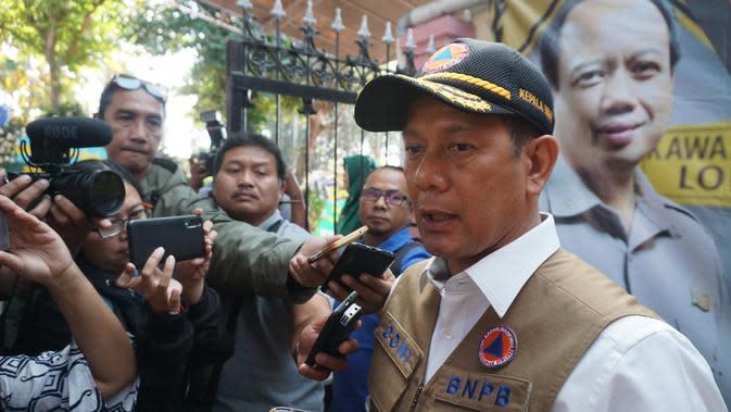 Kepala BNPB: Musim Hujan, Para Pejabat Tidurnya Dikurangi