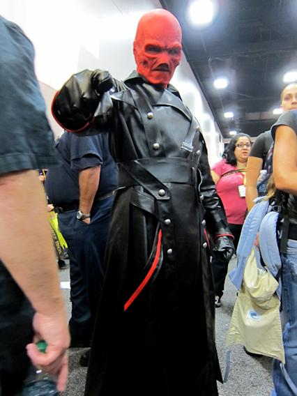 The Red Skull is up to no good - San Diego Comic-Con 2012