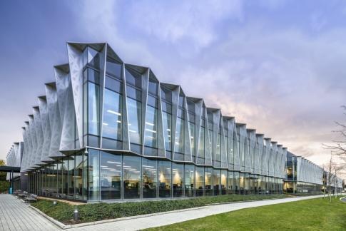 Arm headquarters in Cambridge, UK. Photo: Handout
