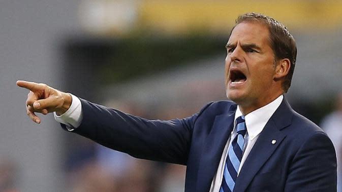 Pelatih Inter Milan asal Belanda, Frank de Boer. (AFP/Marco Bertorello)