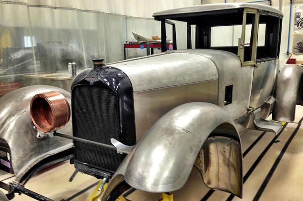 Rebuilding the first Duesenberg, one bolt at a time