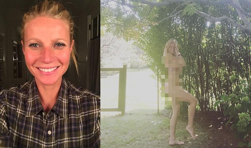 Paltrow donned her birthday suit to celebrate her 48th birthday last weekend. — Pictures from Instagram/gwynethpaltrow