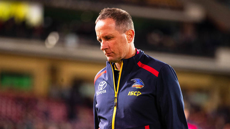 Don Pyke has stepped down as Adelaide Crows coach. (Getty Images)