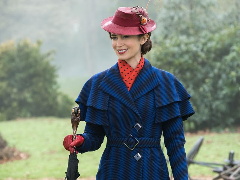 艾蜜莉布朗 完美詮釋新一代魔法媬母瑪莉包萍