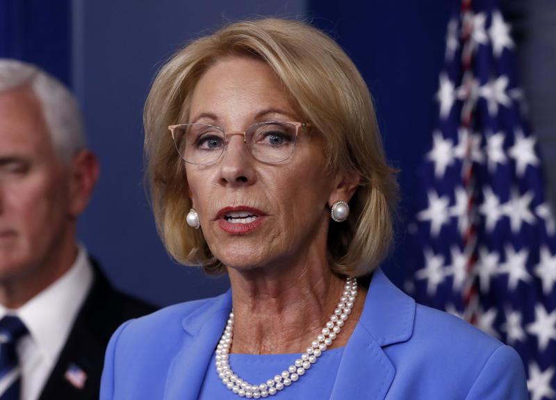 Virus Outbreak Private School Funding