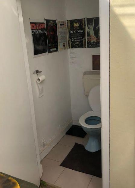 Ms Hart's toilet. It is the only one at her home. Source: Supplied