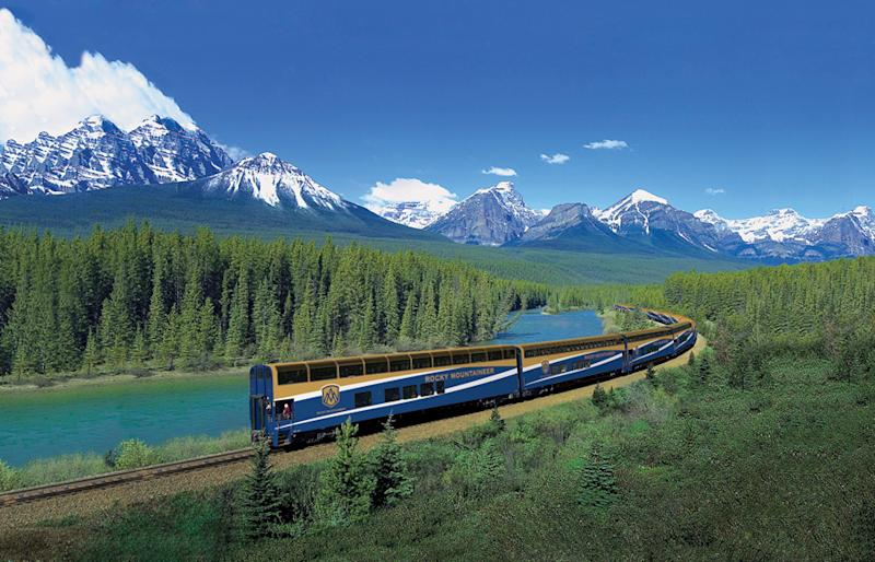 Scenic rail-and-sail vacations that combine trains and cruise ships