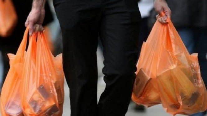 DKI Klaim 97 Persen Pelaku Usaha Tak Pakai Kantong Plastik