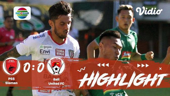 Full Highlight - PSS Sleman 0 vs 0 Bali United | Shopee Liga 1 2019/2020