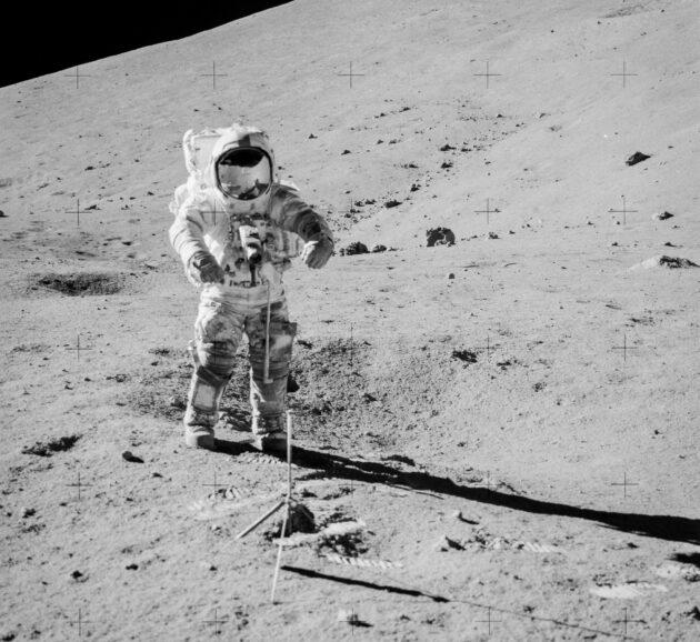 Lunar sample collection