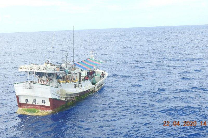 KKP lumpuhkan kapal ikan ilegal asal Filipina dan Taiwan