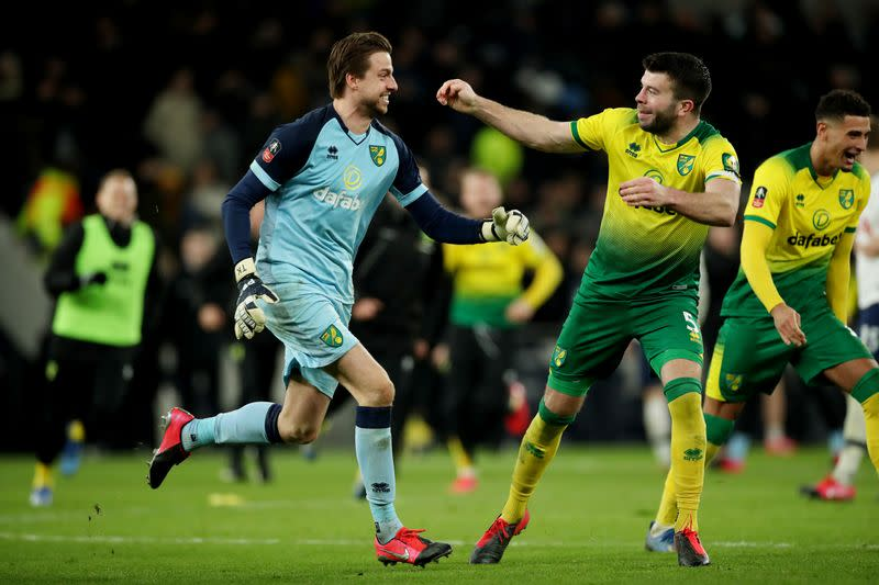 FA Cup Fifth Round - Tottenham Hotspur v Norwich City