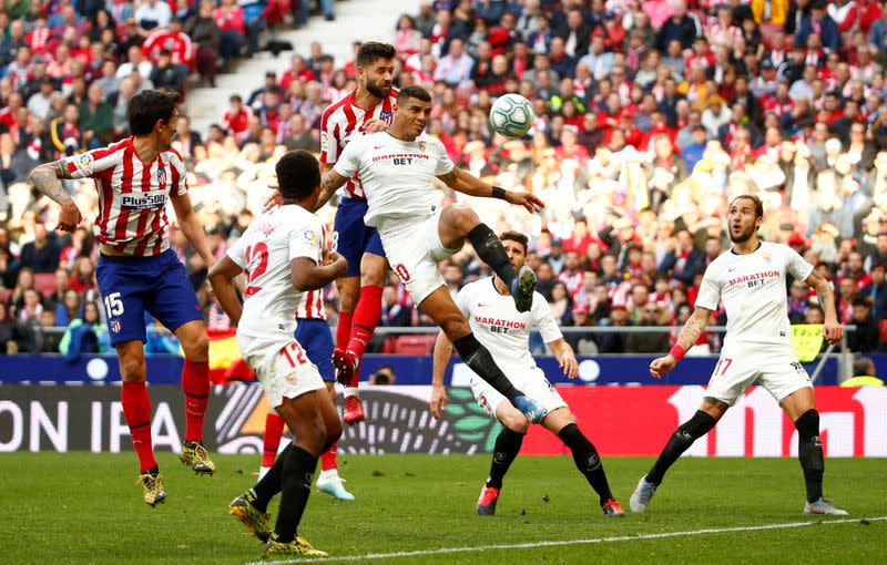 FILE PHOTO: La Liga Santander - Atletico Madrid v Sevilla