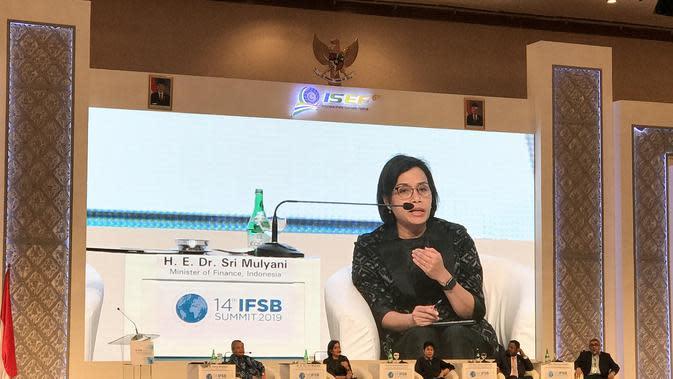 Menteri Keuangan (Menkeu) Sri Mulyani menyebutkan Indonesia akan belajar dari Malaysia dalam mengelola ekonomi syariah. Merdeka.com/Yayu
