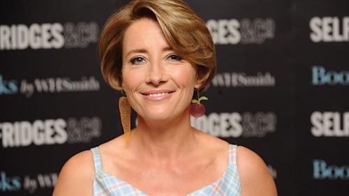 """Yahoo! Exclusive: Emma Thompson talks to our Thelma Adams about being """"Brave,"""" parenting tips, and the benefits of being a Mama Bear"""