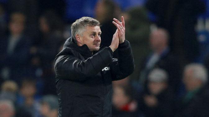 Pelatih Manchester United, Ole Gunnar Solskjaer. (AP/Ian Walton)