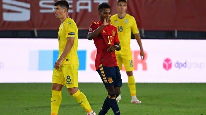 Pemain Timnas Spanyol, Ansu Fati