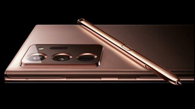 Samsung Bedakan Material Note 20 dan Note 20 Ultra, Ini Alasannya