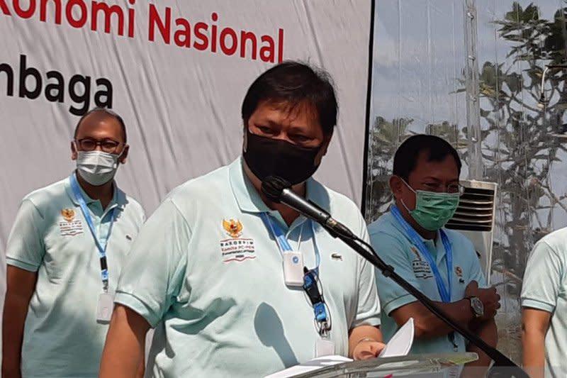 Menko Airlangga: Aspek kesehatan bagian utama capai pemulihan ekonomi