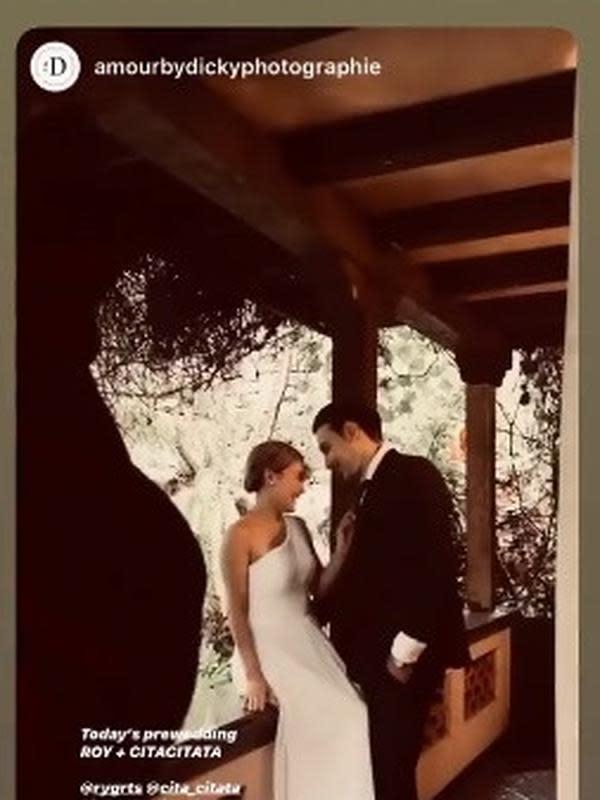 Prewedding Cita Citata dan Roy Geurts (Sumber: Instagram/cita_citata)